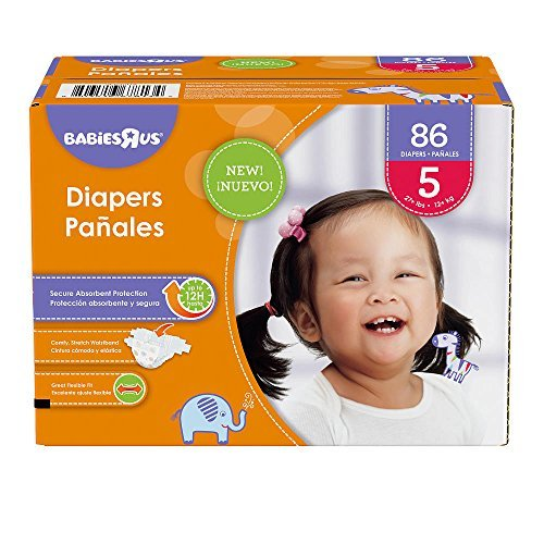 Babies R Us Size 5 Super Pack Diapers - 86 Count