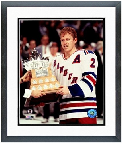 Brian Leetch New York Rangers 1994 Stanley Cup Photo (Size: 12.5