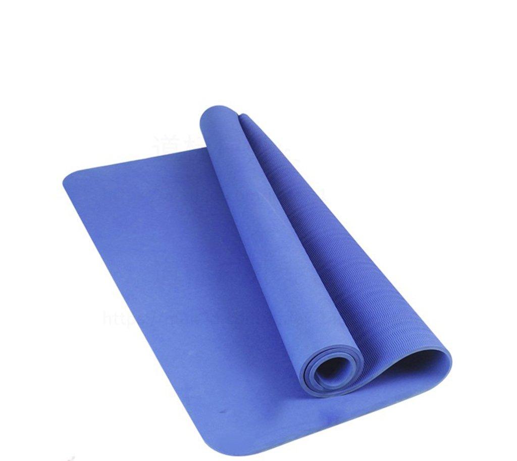 GRJH® ヨガマット、ダブルスティックノンスリップフィットネストレーニングマット初心者のTPEマテリアルダンスマット 快適性、環境保護 (色 : #1) B07D56DGSD #4 #4