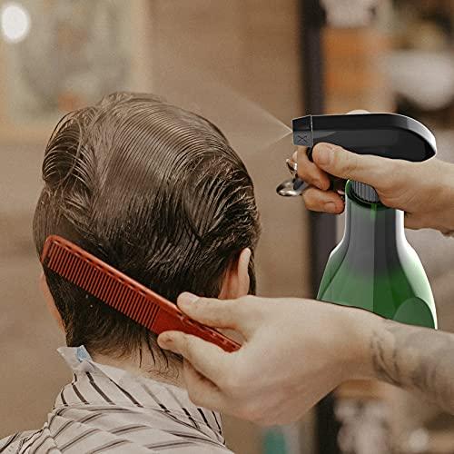BAOLIDA Vaporisateur Vide 400ML, Bouteille de Vaporisateur pour Cheveux, 2 Mode Spray Flacon Pompe à Gâchette, Vaporisateur pour Désinfection, Coiffure, Nettoyage, Jardinage