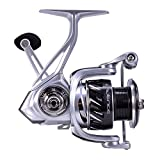 Cadence Fishing CS6 Spinning Reel | Aluminum Frame | Durable Design | Carbon Rotor & Sideplate | 7+1 Corrosion Resistant Bearings | Size 3000