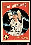 #5: 1959 Topps # 149 Jim Bunning Detroit Tigers (Baseball Card) Dean's Cards 5 - EX Tigers
