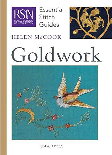 Needlework Book - RSN ESG: Goldwork: Essential Stitch Guides (Royal School of Needlework Essential Stitch Guides)