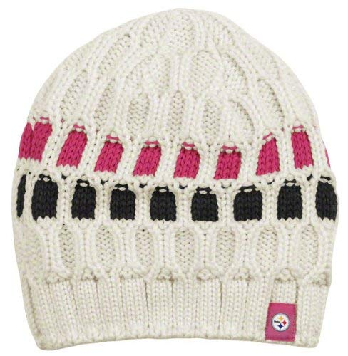 a62a9e23c3a4a ... usa norway reebok pittsburgh steelers womens pink breast cancer uncuffed  knit hat fec6f 4dcbc b1db1 c8042