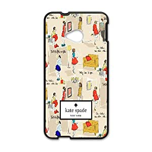 Printed Phone Case for grils kate spade For HTC One M7 NP4K02278