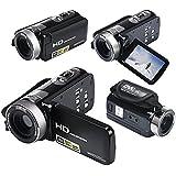 Mini DV 24MP High Definition Digital Video, Camcorder DVR 3 TFT LCD 16x Zoom Hd Video Recorder Camera 1080P Digital Video Camcorder (Black)