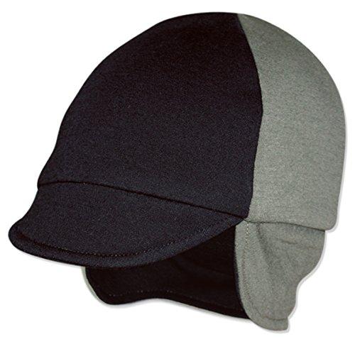4000 Sage - Reversible Wool Hat (Black/Sage)