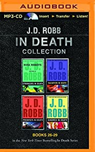 MP3 CD J. D. Robb In Death Collection Books 26-29: Strangers in Death, Salvation in Death, Promises in Death, Kindred in Death (In Death Series) Book