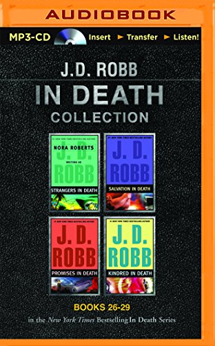 J. D. Robb In Death Collection Books 26-29: Strangers in Death, Salvation in Death, Promises in Death, Kindred in Death (In Death Series)