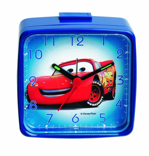 Disney Cars Children's Alarm Clock 957123 (Disney Cars Alarm Clock)