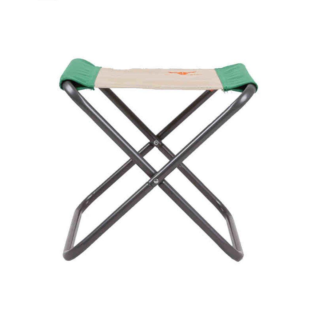 WANGXIAOLIN Portable Folding Stool Fishing Stool Shoe Bench