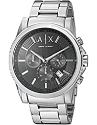 Armani Exchange Mens AX2084  Silver  Watch