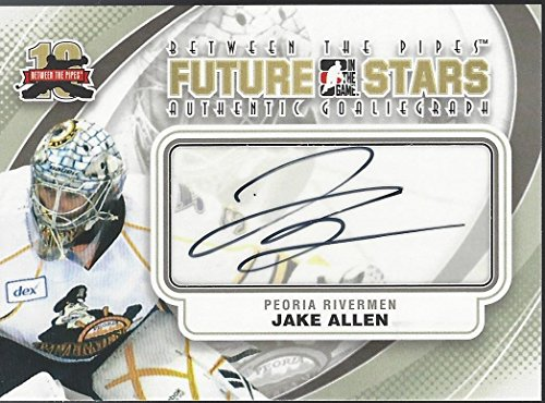 Jake Allen 2011-12 In the Game ITG Between the Pipes Autograph Auto A-JA ()