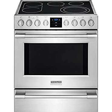 Frigidaire FPEH3077RF Professional Electric Range, Stainless Steel