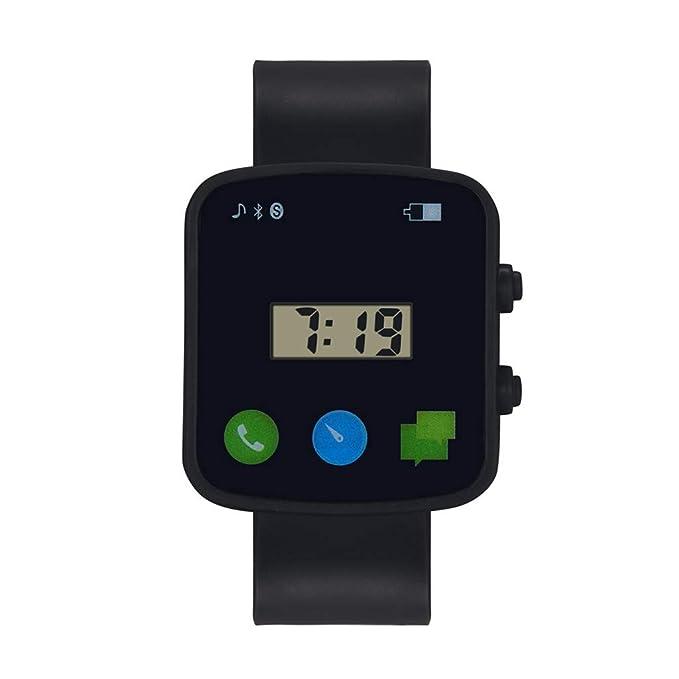 Reloj Deportivo Infantil electrónico, BBestseller Moda Pulsera Actividad Inteligente LED para Deporte Podómetros Smartwatches para Niño (Amarillo): ...