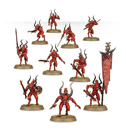 Games Workshop Warhammer Age of Sigmar Demons of Khorne Bloodletters