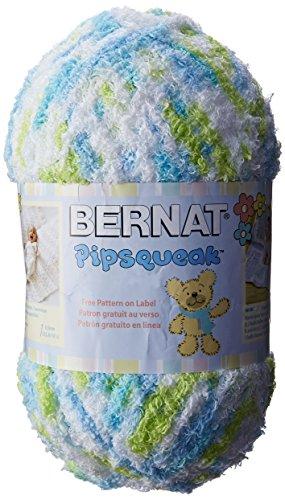 Bernat Pipsqueak Big Ball Yarn 5 Bulky Gauge  - 8.8 oz -  Funny Bunny Print  - Baby Soft Yarn Machine Wash & Dry (Yarn Bunny Print)