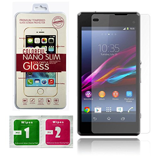 Highest Quality Premium Tempered Glass Screen Protector for Sony Xperia Z1 L39h C6903 C6902 C6906 C6943