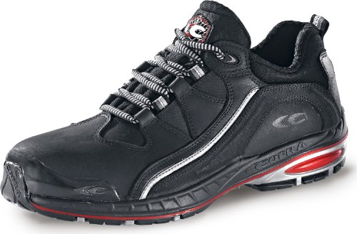 sicherheitsschuh sicherheitsschuh sRC aluminiumkappe Cofra en véritable noir halfback Noir cuir s3 chaussures de sport ZSwHxFq