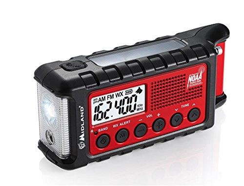 Midland ER310, Emergency Solar Hand Crank AM/FM Digital Weather Radio