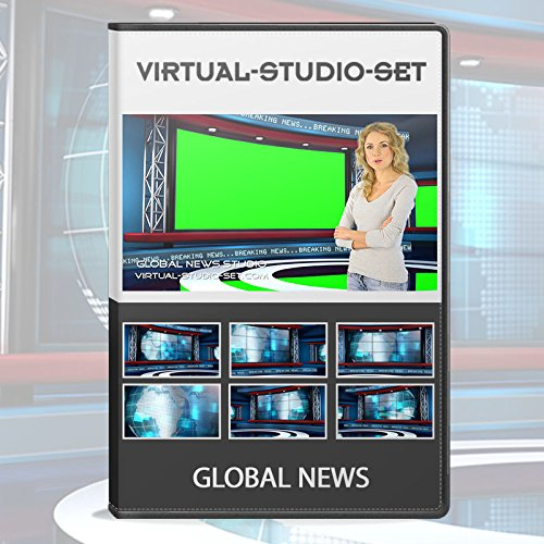 Global News HD Realistic Virtual Set for Green Screen Video Productions (Green Screen Photo Software)