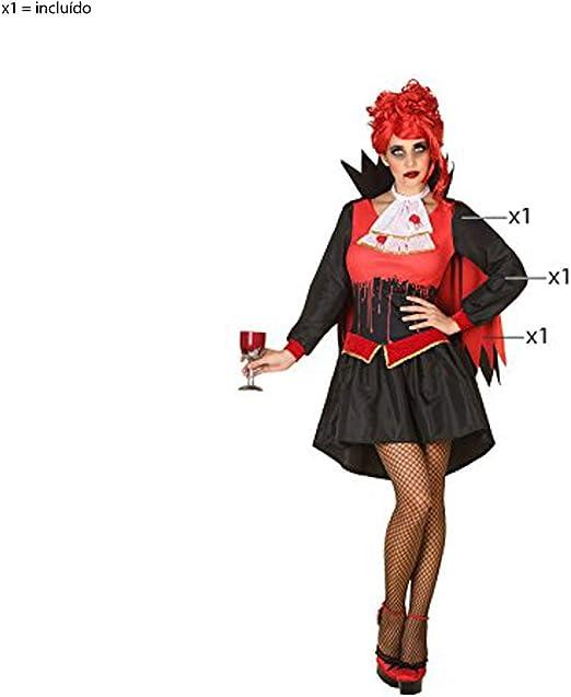 LEMON TREE SL Disfraz para Halloween de Mujer Vampiresa Sangrienta ...