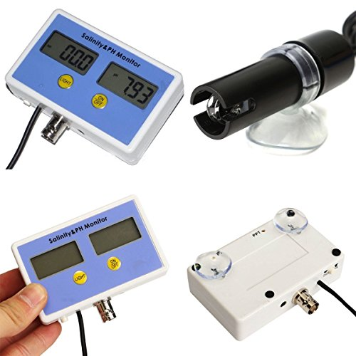 Electronic Salinity and PH Value on-line Water Quality Meter Monitor 2 Probes Set by SPK603 (Image #4)
