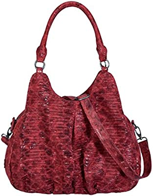 50a1f4c2dfe11 Fritzi-DAJA-Snake-Red Shopper 43x28x20  Amazon.de  Koffer