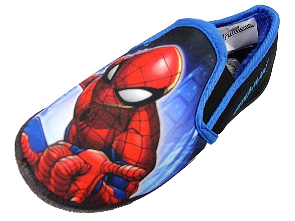 'Spiderman' Boys Character House Slipper Superhero Marvel Shoes