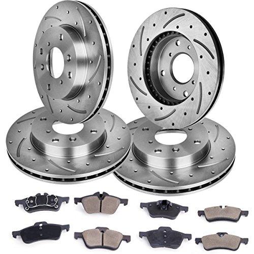02 Brake Rotors Ceramic Pads - 1