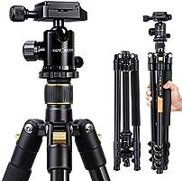 K&F Concept® TM2324 Kamerastativ Reisestativ Fotostativ Kamera Stativ für Canon Nikon Sony Spiegelreflexkamera aus...