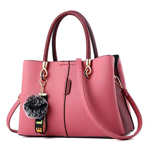 Bolsa Gran Para pink De Bolsa onesize Laidaye Pink Capacidad Viaje Cuero Maletín Diario Mujer Cosméticos bolso Dama La Bandolera Almacenamiento z4TdTq