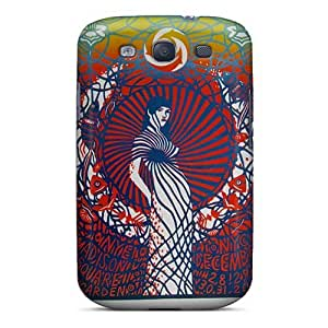 High Quality Mobile Cases For Samsung Galaxy S3 With Provide Private Custom Colorful Grateful Dead Image ChristopherWalsh