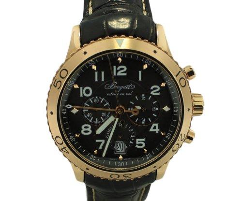 Breguet Transatlantique Type XXI Flyback Chronograph Rose Gold Mens Watch 3810BR929ZU ()