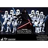 """Hot Toys Star Wars First Order Kylo Ren 1/6 Scale 12"""" Figure"""