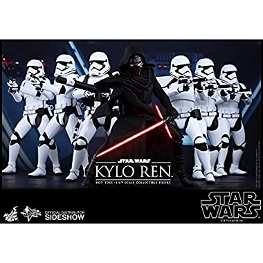 Hot Toys Star Wars First Order Kylo Ren 1/6 Scale 12  Figure