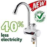 EuroQuality Chauffe-eau électrique kai de cuisine numérique de chauffage électrique Robinet eau chaude et froide à double usage & instantané