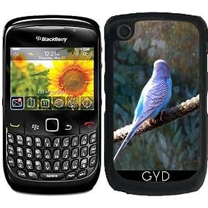 Funda para Blackberry Curve 8520/8530/9300/9330 - Azul Periquito by WonderfulDreamPicture