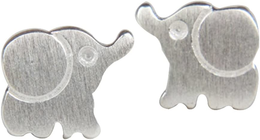 Wicemoon 1par Pendientes Ear Studs Aretes earrings Pendientes mini bendición tirón de la morsa