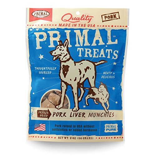 [Primal Pork Liver Munchies] (Pork Liver)
