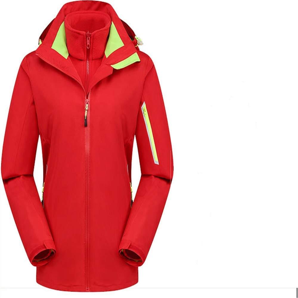 AiNaMei Frauen-Outdoor-Jacken sowie samt warme, Winddichte Bergsport-Skianzüge