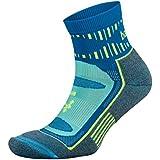 Balega Blister Resist Quarter Socks For Men and Women (1 Pair), Blue, Small