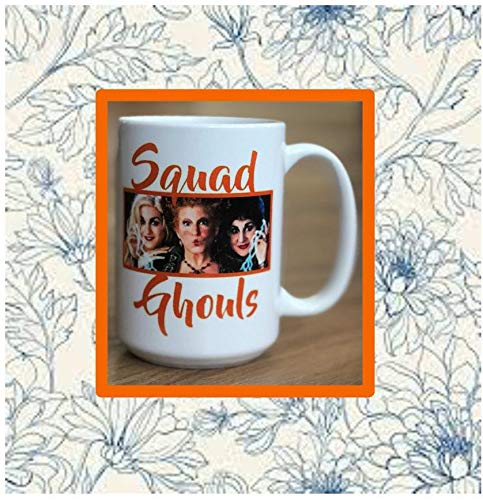 No9 Coffee Mug|Hocus|Pocus|Halloween|Spooky|Pumpkin|Amuck|fall|Sanderson|Sisters|Salem 15 oz ()
