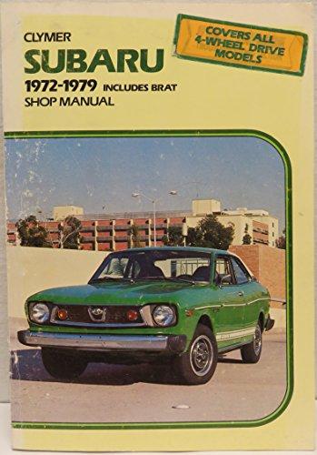 - Clymer Subaru, Brat Shop Manual 1972-1979