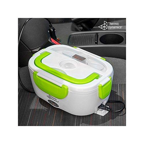 7 opinioni per Scaldavivande da auto, lunch box elettrico adattatore 12 volt, riscaldamento