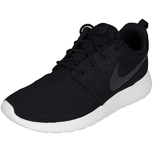 Nike e Sneaker Roshe Run Schwarz/Anthrazit Schwarz (010 BLACK/ANTHRACITE-SAIL)