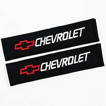 QZS Corvette Seat Belt Shoulder Pads Strap Covers Cushion 1 Pair//Set