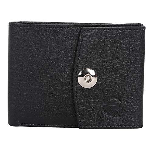 RajFair Leather Wallet for Men..  Black