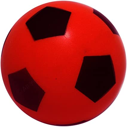Foam Football - Size 5 - Red: Amazon.es: Deportes y aire libre