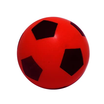 Foam Football - Size 5 - Red: Amazon.es: Deportes y aire libre